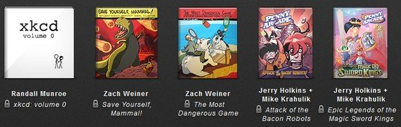 humble indie bundle - comics