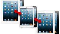 iPad-Vergleich: iPad mini vs iPad 4. Generation vs iPad 2