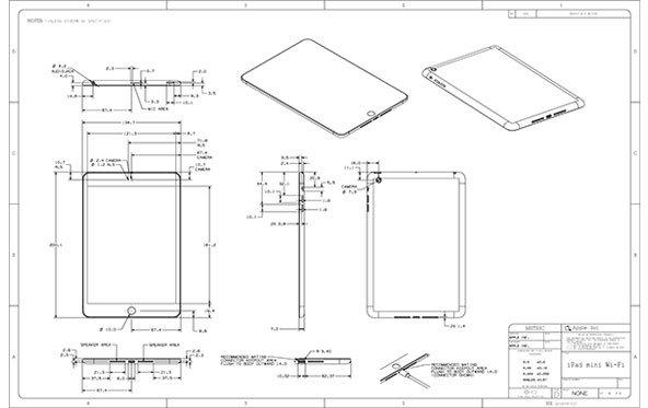iPad mini und iPad 4: Apple nennt detaillierte Maße
