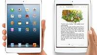 iPad mini und iPad 4: Vorbestellungen ab sofort möglich