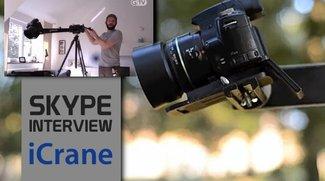 Kamerakran für iPhone 5 und Co: iCrane