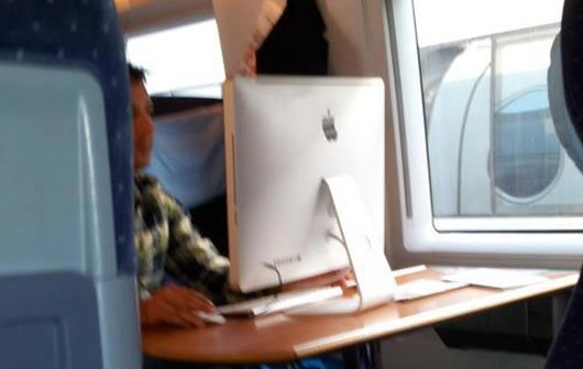Pic of the Day: Ein iMac ist portabel