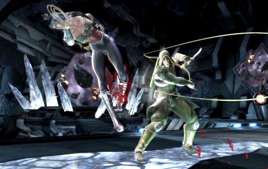 Injustice - Gods Among Us: Gameplay-Videos zu Green Arrow, Hawkgirl und mehr