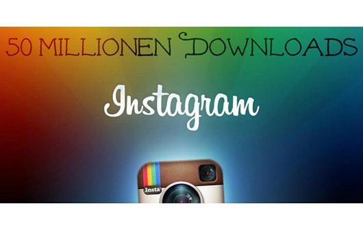 Instagram erreicht 50 Millionen Android-Downloads im Play Store