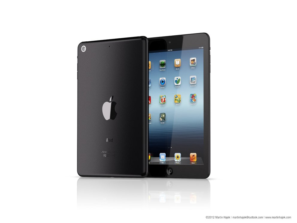 iPad Mini Rendering - Martin Hajek