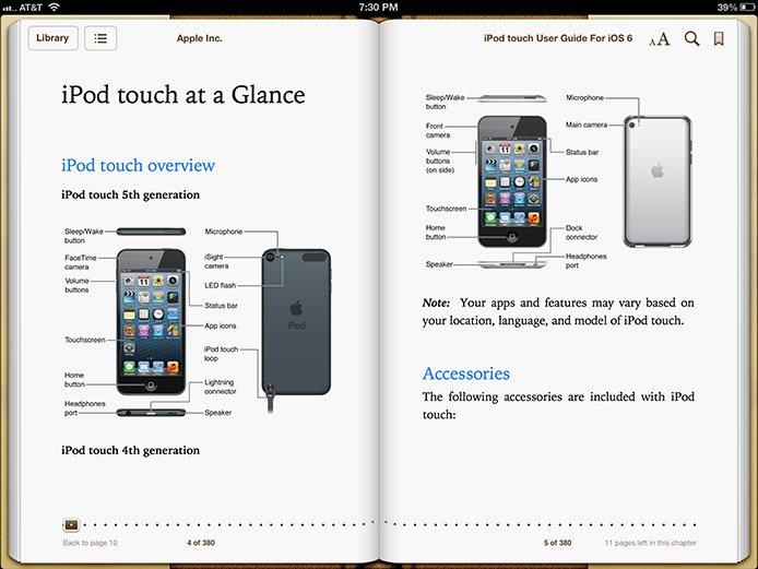 ipod touch 5 generation benutzerhandbuch im ibookstore. Black Bedroom Furniture Sets. Home Design Ideas