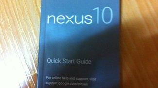 Bilder vom Nexus 10 Handbuch aufgetaucht