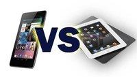 iPad Mini vs. Nexus 7 - Vergleich der Specs und Kommentar [Update]