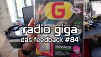 radio giga #84 - Das Feedback