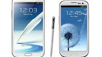 Samsung Galaxy Note 2: Display besser als beim Galaxy S3