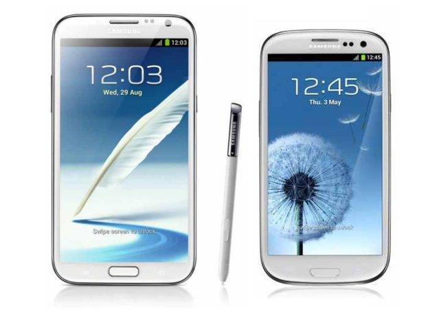 Samsung Galaxy Note 2: Display besser als beim Galaxy S3
