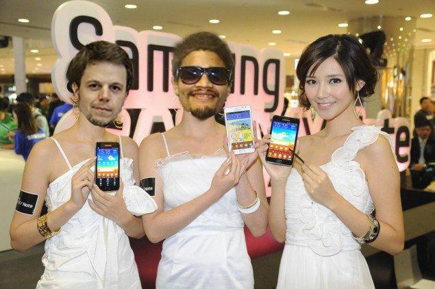 Samsung Galaxy Note 2 Parodie: Es kann so viel