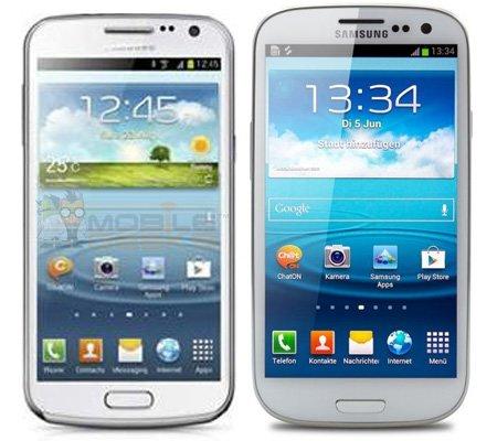 Galaxy Premier und Galaxy S3