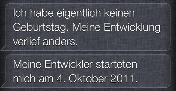 Siris Geburtstag!