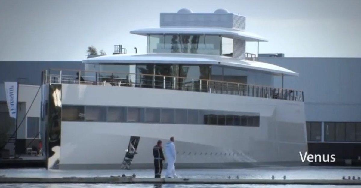 Steve Jobs' Luxusyacht in Mexiko gesichtet