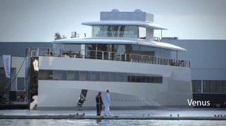 """""""Venus"""": Steve Jobs' Yacht in den Niederlanden zu Wasser gelassen"""