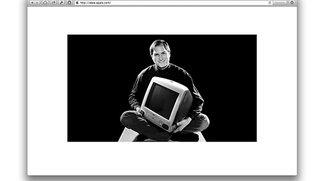 Apple.com mit Sonderseite