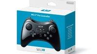 Wii U: Pro Controller mit 80 Stunden Batterielaufzeit