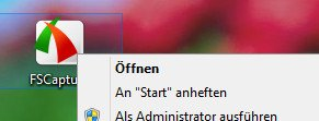 Windows 8 an Start anheften