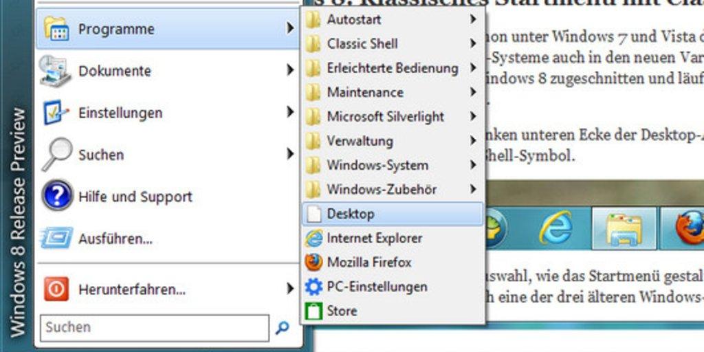 Windows 8 und 8.1: Startmenü wieder einrichten und Kacheln entfernen ...