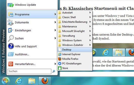 Windows 8 und 8.1: Startmenü wieder einrichten und Kacheln entfernen