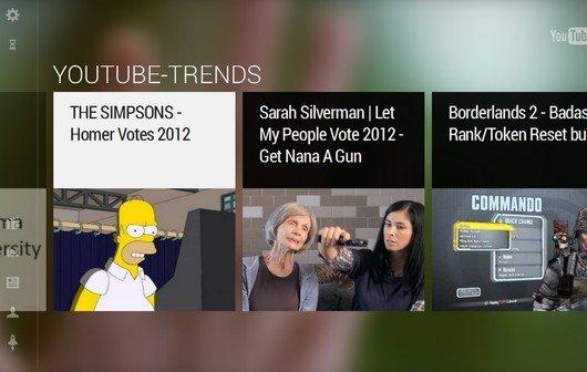 YouTube TV: Neuer Fernseh-Modus lässt sich mit Keyboard oder Smartphone steuern