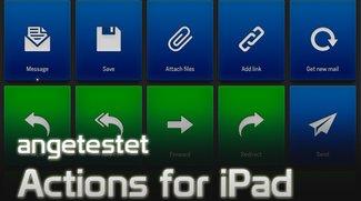 Actions for iPad: Shortcut-Bedienung für den Mac