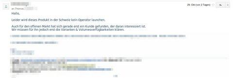 Kein Nexus 4 für die Schweiz