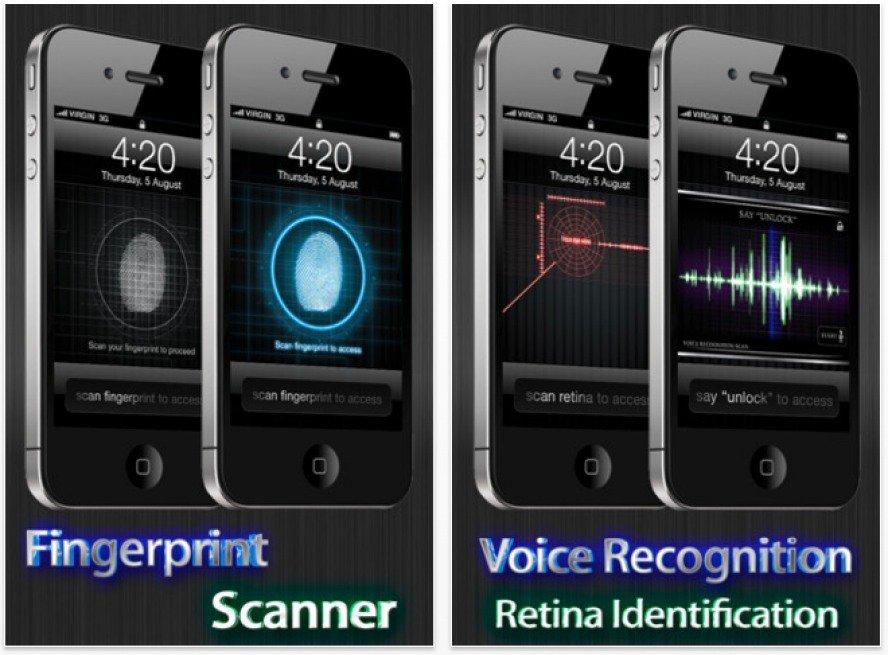 """App-Betrug - """"Bildschirm Sperren"""""""