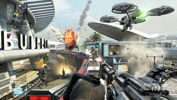 Call of Duty - Black Ops 2: Sichert sich Platz 1 der Charts