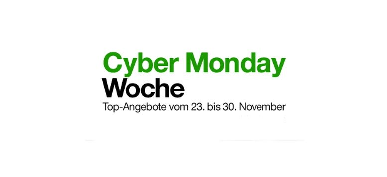 Cyber Monday Woche mit Rabatten bis zu 50% bei Amazon (Teil 1)
