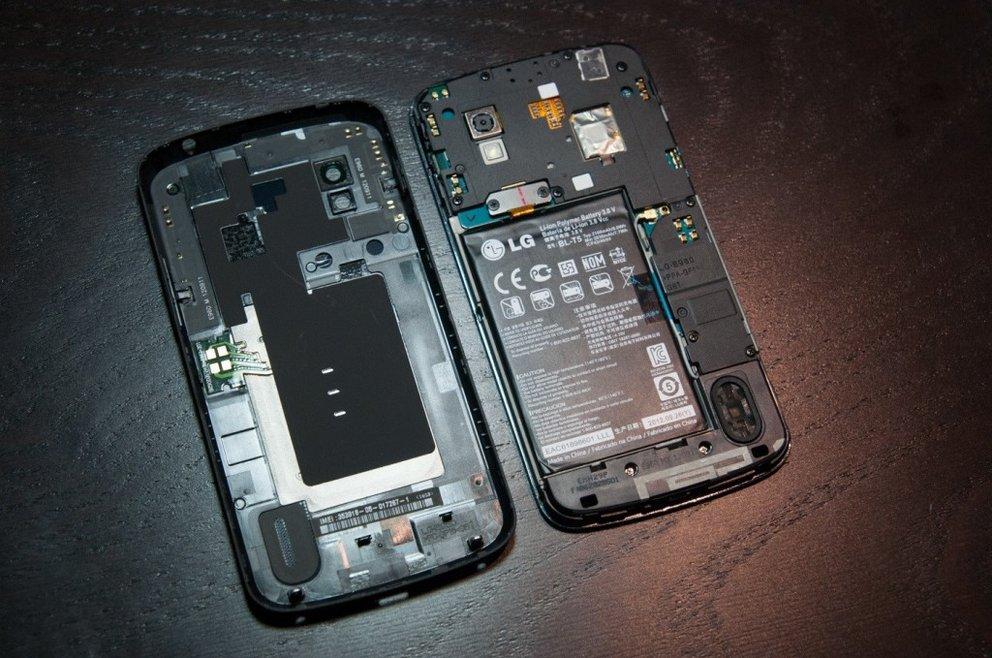 Nexus 4 Innenleben