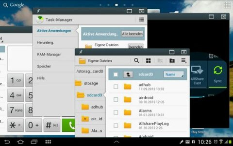 Note 10.1 Jelly Bean Apps