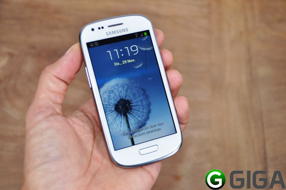 Samsung Galaxy S3 Mini: Hands-On – GIGA