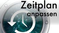 Time Machine: Backup-Intervall ändern in OS X 10.8 Mountain Lion