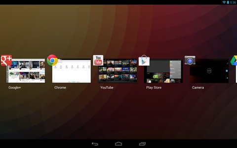 Android 4.2 App-Switcher