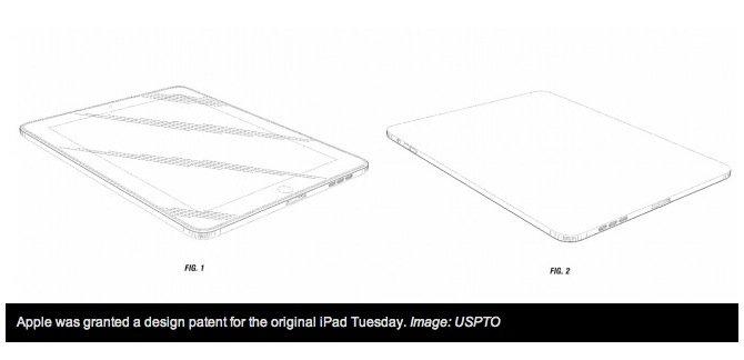 iPad: Apple erhält Patent für Design