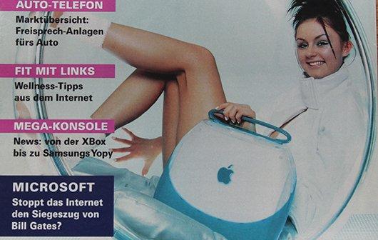 Blast from the past: Computerzeitschrift aus dem Jahr 2000
