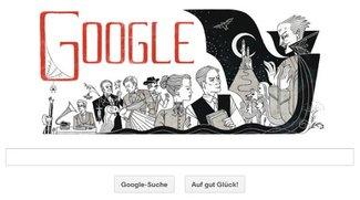 Google gratuliert Bram Stoker - die 5 besten Horror-Doodles