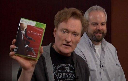 Clueless Gamer: Conan O'Brien zockt Hitman Absolution