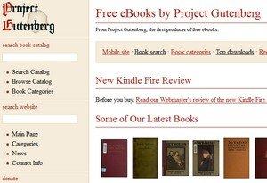ebooks kostenlos: Project Gutenberg