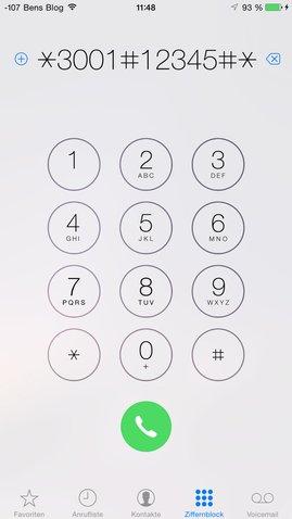 Field Test App von iOS 8