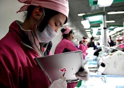 Deutlicher Produktionsrückgang bei Apple-Zulieferern im Februar