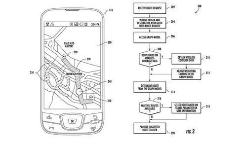 Google Navigation-Patent