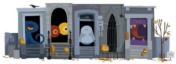 Halloween-Doodle 2012