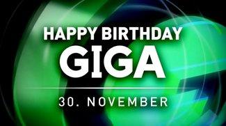 GIGA Geburtstag - Unser Video-Special zum 30. November 2012