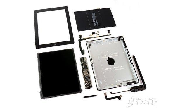 iPad 4 Teardown: Wie erwartet wenige Änderungen im Inneren