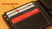 Card Stand: iPhone-Ständer in Kreditkartengröße