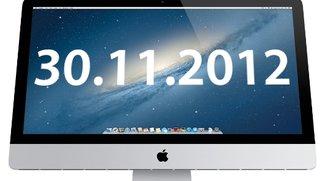 iMac 2012: Erhältlich ab 30. November