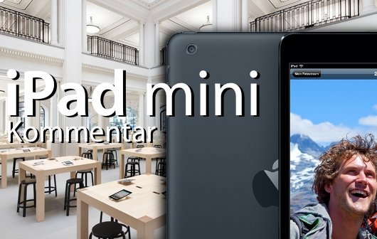 iPad mini: Gedanken zum Verkaufsstart